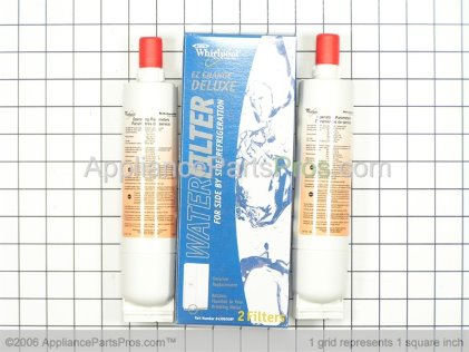 Whirlpool Whirlpool Refrigerator Water Filter 2 Pack 4396508P from AppliancePartsPros.com
