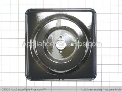 Frigidaire 318168124 Pan Burner Large Bl