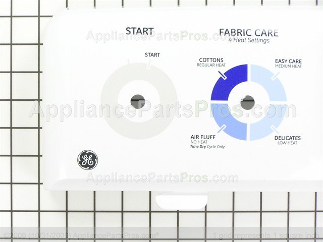 WE19M1678 For GE Clothes Dryer Control Panel