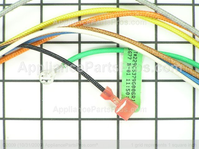Ge Wb18t10408 Burner Wire Harness