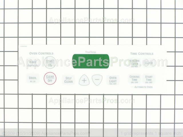 Ge Wb27t10677 Faceplate Graphics Appliancepartspros Com