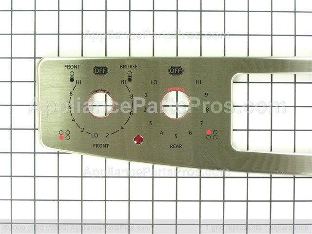 Ge Wb27t10757 Panel Overlay Asm