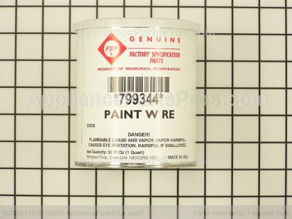 Whirlpool 799344 Appliance Touch Up Paint