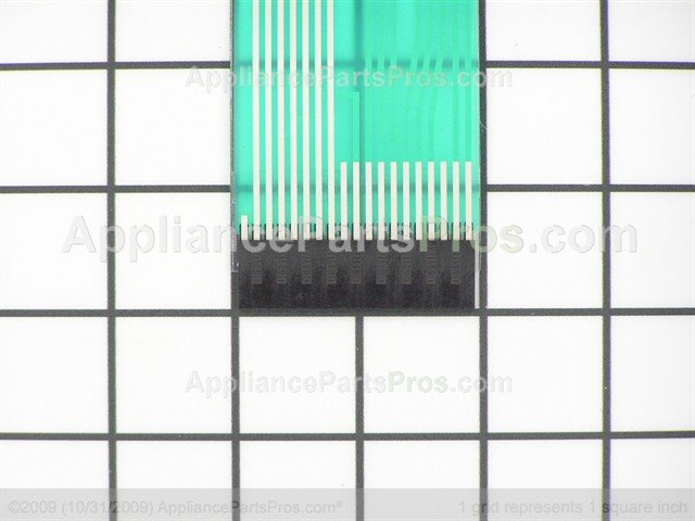 Whirlpool Wp9756595bl Switch Membrane