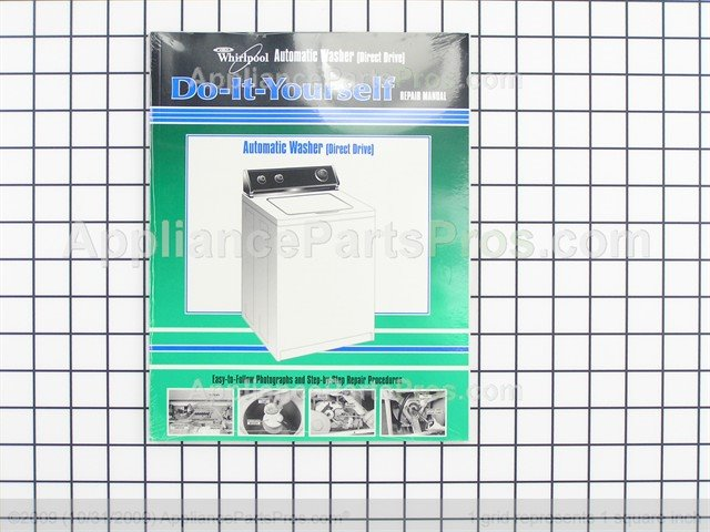 whirlpool 4313896 automatic washer direct drive whirlpool repair rh appliancepartspros com Whirlpool Quiet Partner 1 Manual Whirlpool Quiet Partner II