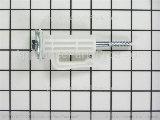 White Whirlpool W10763471 Washer Shipping Bolt Kit