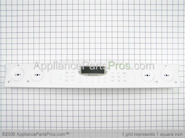 Whirlpool Wp74005748 Control Panel Assembly Wht