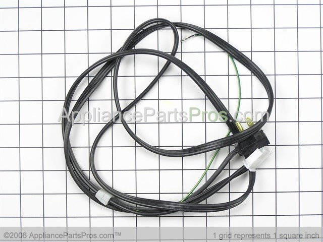 whirlpool wp67006506 power cord