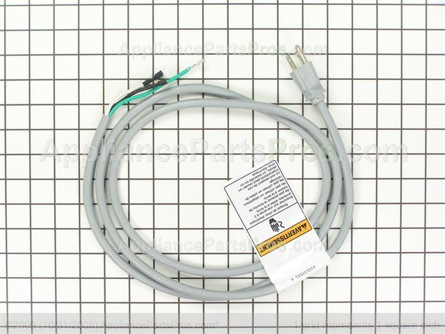 whirlpool wp8183009 cord-power