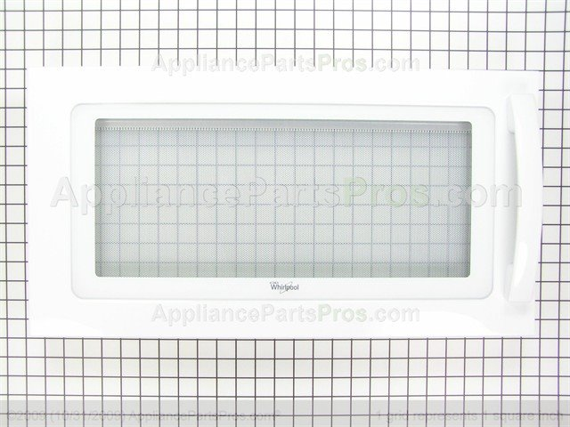 Whirlpool W10247772 Microwave Door Assembly