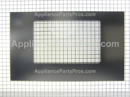 Whirlpool Wp9781627pb Door Glass Outer Black