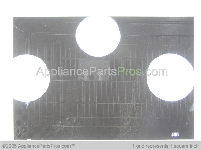 Whirlpool Wp3195610 Outer Door Glass Black
