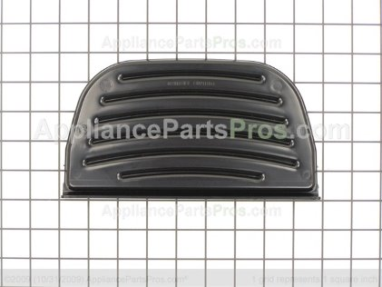 Whirlpool Wp2180243 Grille Overflow Black