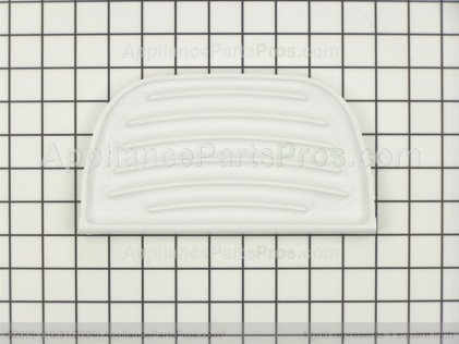 Whirlpool 2180241 Grille Overflow White