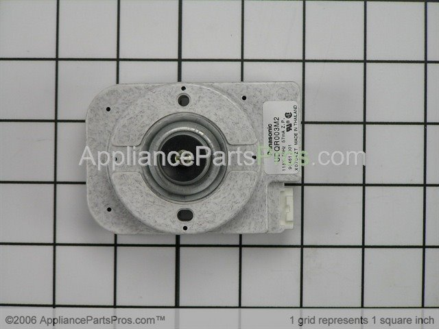 Whirlpool WP61005323 Motor, Condenser Fan - AppliancePartsPros.com on a c compressor capacitor wiring diagram, amana washer wiring diagram, jenn-air stove top wiring diagram, freezer thermostat wiring diagram, fan coil unit wiring diagram,