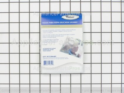 Whirlpool W10180464rp Washer Laundry Bag